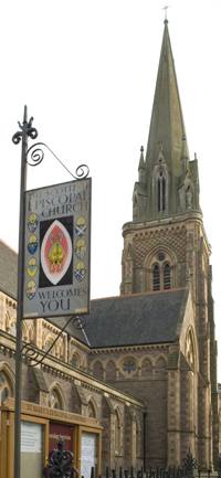 St Mary\'s with SEC pubsign